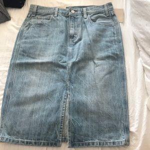 Levi's High Rise Skirt